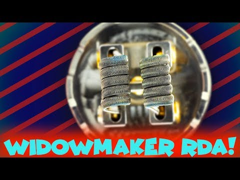 The WIDOWMAKER RDA By Vandy Vape & El Mono Vapeador!