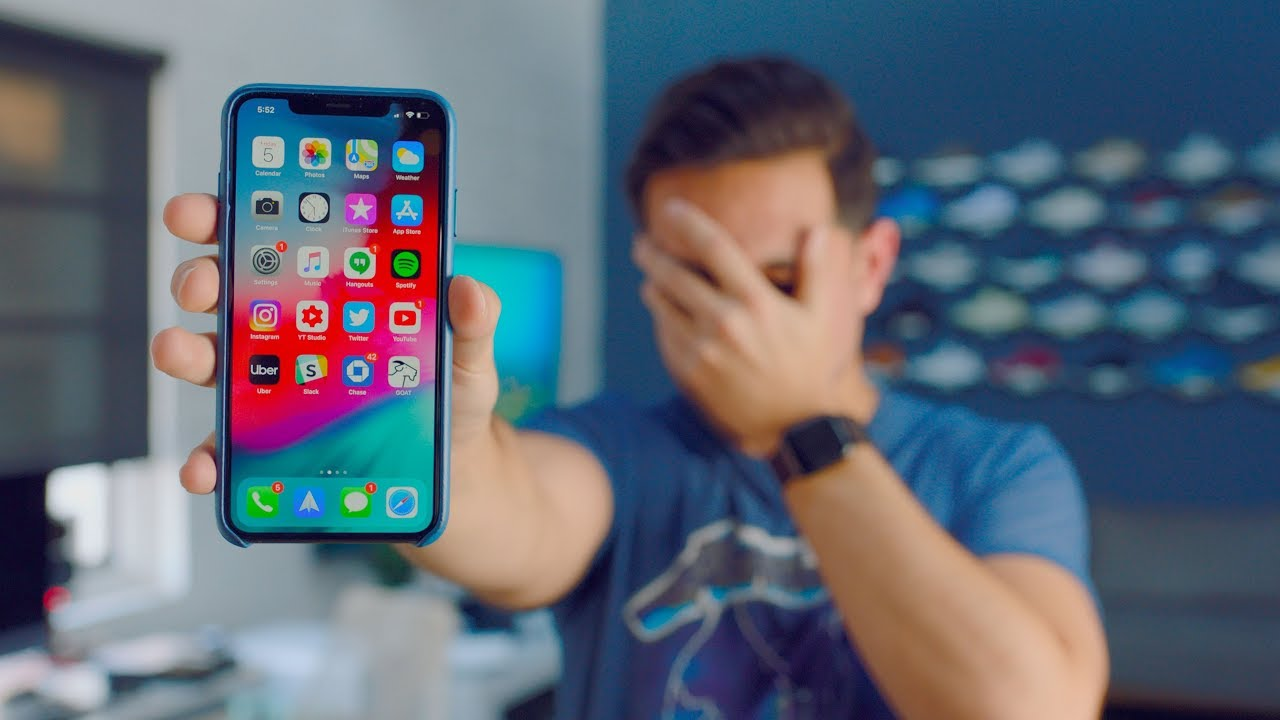Responding to the iPhone XS Max Problems