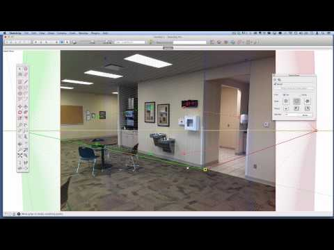 How to stitch multiple Match Photos together in SketchUp