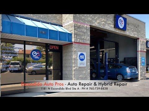 Auto Repair & Hybrid Repair   Escondido Auto Pros   SD