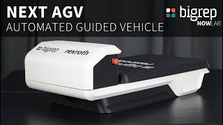 BigRep's NEXT AGV - 3D Printed Automated Guided Vehicle