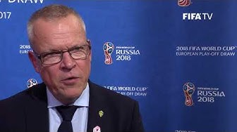 Jan Andersson - European Play-Off Draw Reaction (EXCLUSIVE)