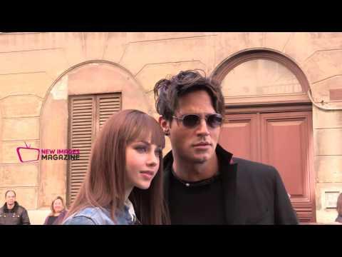 Gabriel e Adua in love a Roma