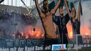 Panathinaikos, Rapid Wien brothers forever