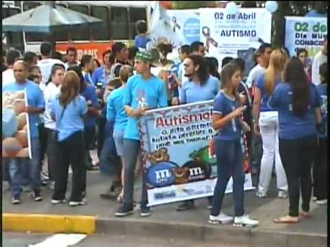 DIA MUNDIAL DA CONSCIENTIZAÇÂO DO AUTISMO VARG. 2 - 4 - 2013 Travel Video