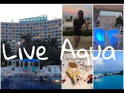 RESEÑA  HOTEL LIVE AQUA CANCÚN, MEXICO / REVIEW LIVE AQUA HOTEL RESORT