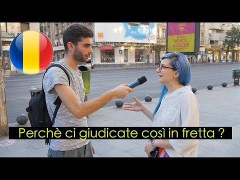 Le domande dei RUMENI agli ITALIANI - thepillow a Bucharest