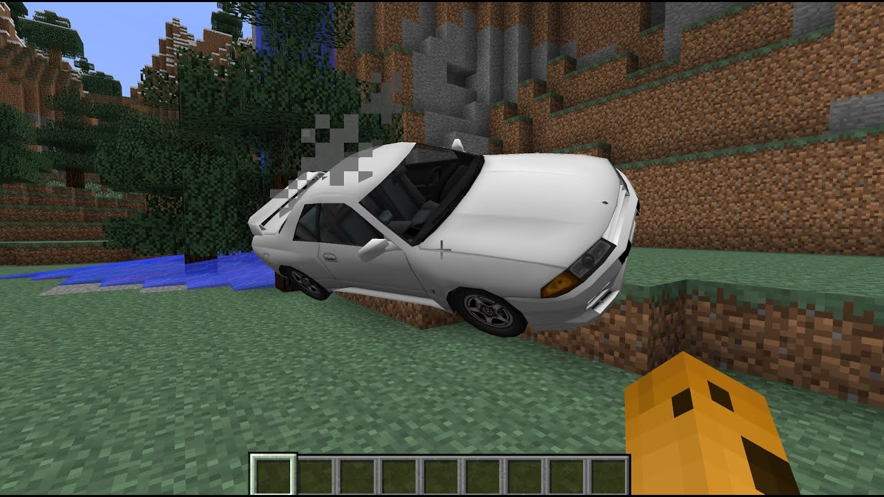 Realistic Vehicle MOD in Minecraft YouTube