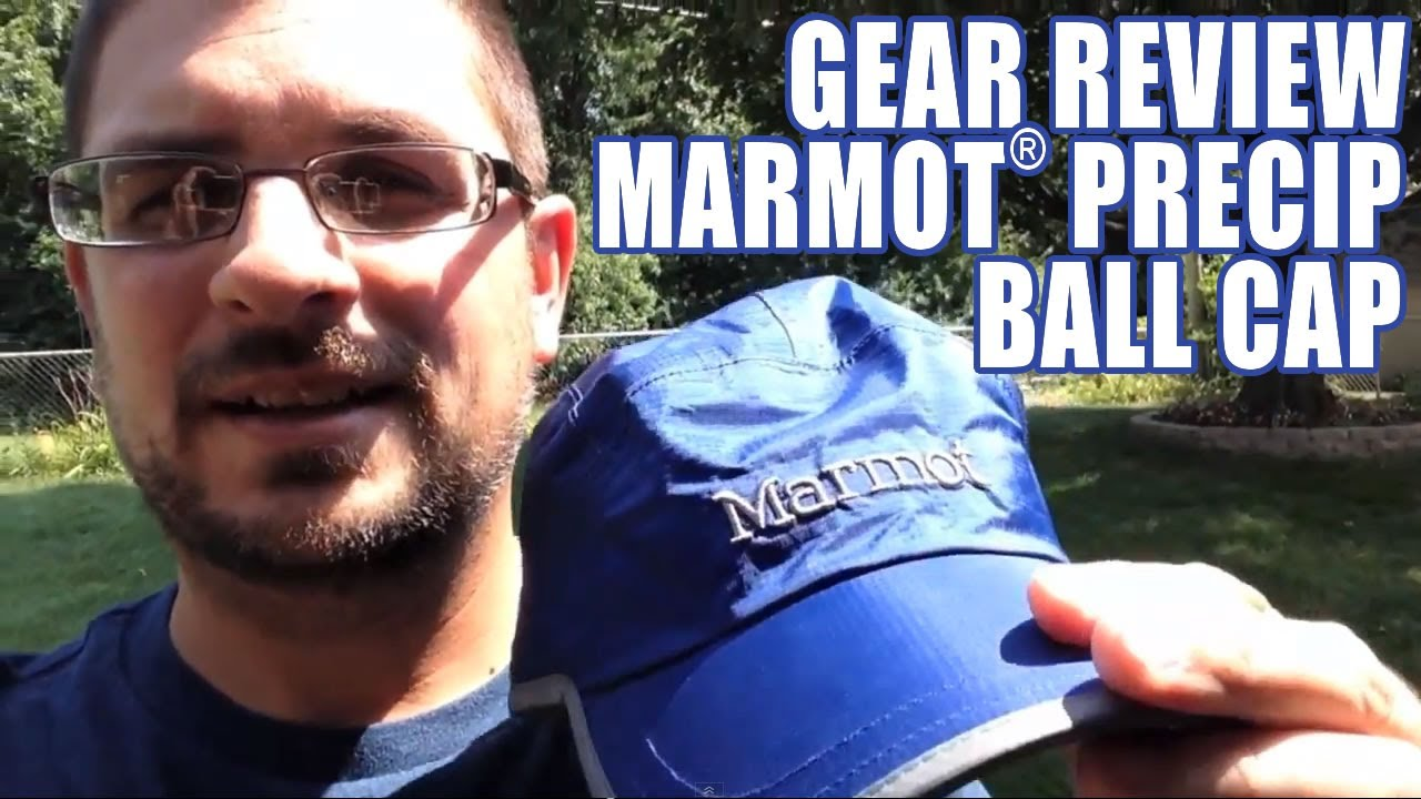 Gear Review  Marmot® Precip Baseball Cap - YouTube 9ffccf20f8ce