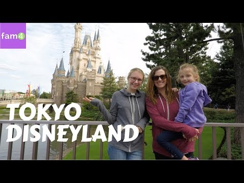 Tokyo Disneyland vs. Disney World Orlando  (Ep.  25) - Family Travel Channel