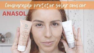 Anasol Protetor Solar com Cor: CC Cream e DD Cream comparação YouTube Videos
