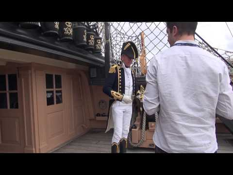 Volunteering at Portsmouth Historic Dockyard: HMS Victory