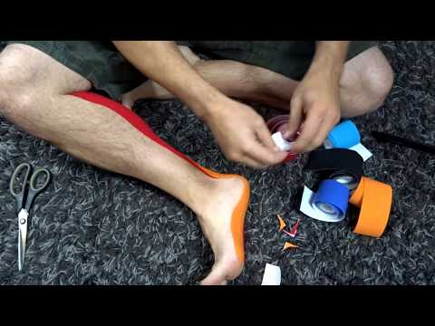 Plantar Fasciitis Kinesio Taping Ultimate System Taping | Northern Soul channel