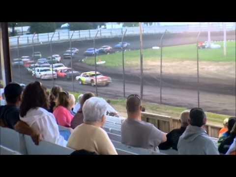 nielsen racing Algona Raceway 8-17-13