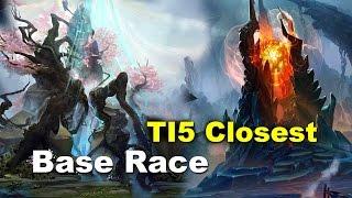 TI5 Best Base Race Ever Void vs Wheel REKT Dota 2