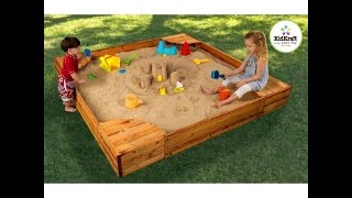 Review: Kidkraft Backyard Sandbox