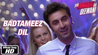 Badtameez Dil - Yeh Jawani Hai Deewani 720p Hd with Lyrics