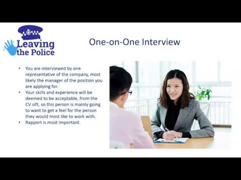 Webinar 02 - Hints and Tips for Job Interviews