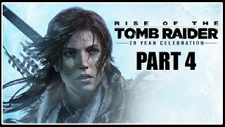 NESKUTEČNÁ HROBKA! - Rise of the Tomb Raider PART 4 / 1080p 60fps /