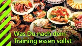 Was Du nach dem Training NICHT essen sollst