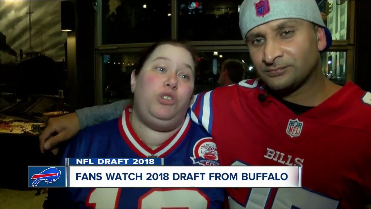 premium selection acafa 52468 Bills fans react to Josh Allen draft
