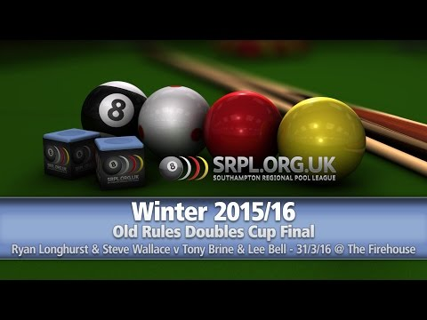 Winter 2015/16 - Old Rules Doubles Cup Final - 31/3/16