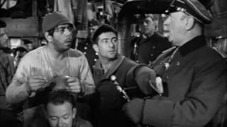 Stalag 17 - the volleyball match and Sgt. Schultz