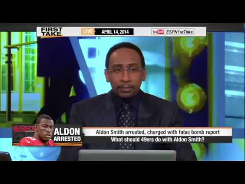 Aldon Smith Gets Arrested Again!     ESPN First Take