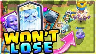 IT WONT LOSE!! the BEST Royal GHOST Deck!! (Molt Clash Royale)