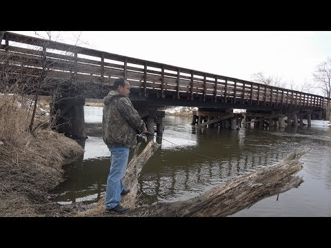 Hmong nuv ntses White Bass Early Spring MN- 2018