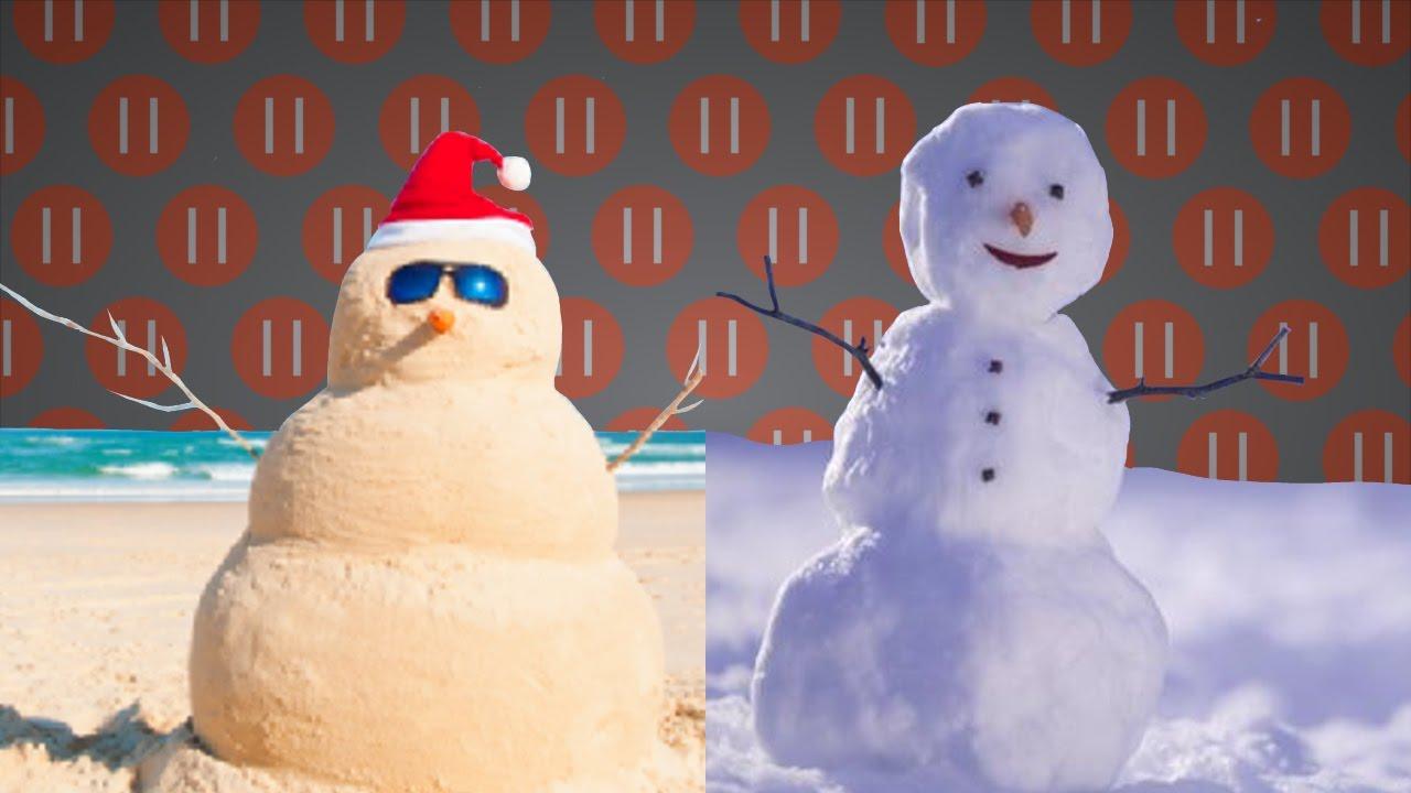 summer christmas vs winter christmas southern northern hemisphere - Summer Christmas