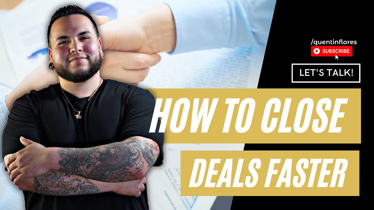 How To Close Deals Faster | Wholesaling Real Estate 101