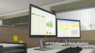 HP Monitor EliteDisplay E232