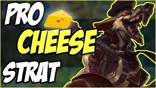 Pro Cheese Strat GUIDE (TWITCH JUNGLE) - OP CHEESE Twitch Jungle Strategy GUIDE - League of Legends
