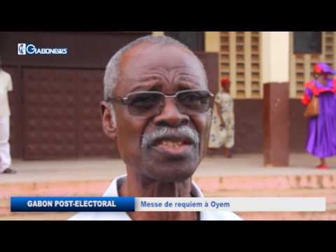 GABON POST-ELECTORAL : MESSE DE REQUIEM À OYEM