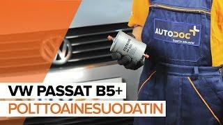 Kuinka vaihtaa polttoainesuodatin VW PASSAT B5+ -merkkiseen autoon OHJEVIDEO | AUTODOC