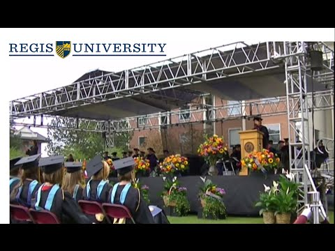 Regis University 2015 Graduate Commencement: Masters Degree