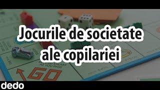 10 Jocuri de societate din copilarie