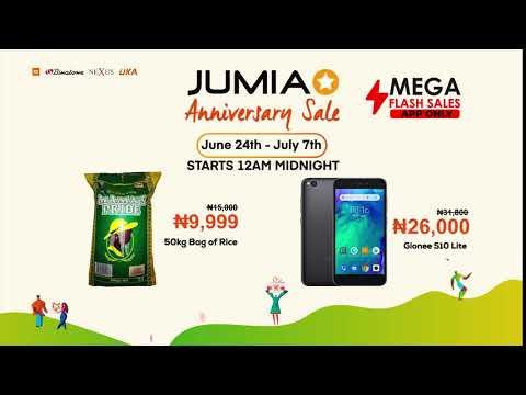 Jumia Anniversary Sale || June 24th - July 7th, 2019 - YouTube