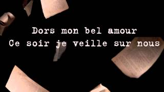 Dors mon bel amour - Maxime McGraw (Paroles)