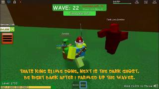 """How to Semi """"AFK"""" farm in Zombie Attack!!! -Roblox"""