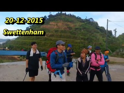 SKL  Hiking to Gunung Swettenham (1961m), Cameron Highlands, Pahang, Malaysia (Video-104)