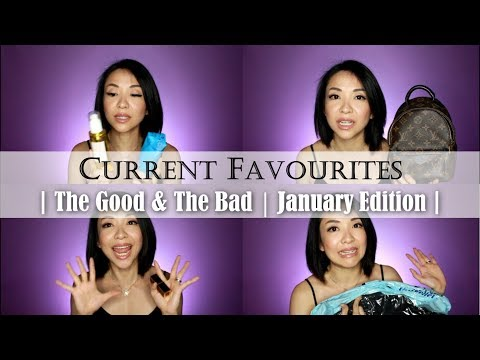 The Good & The Bad | Current Favourites | Jan Edition | Kat L