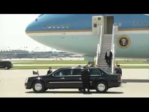 RAW: President Obama Lands at MSP Airport, Greets Crowd