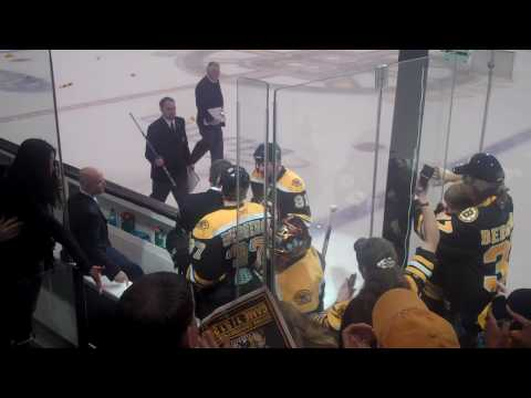 Bruins Celebrate Win - Love That Dirty Water