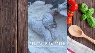 La Chef Carolina Arias para el programa Casi a las Doce realiza un Pica Pollo