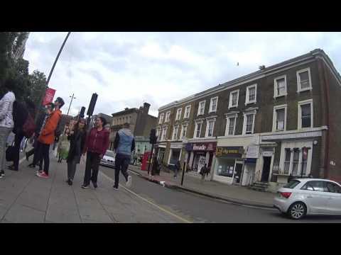 Walking in East London