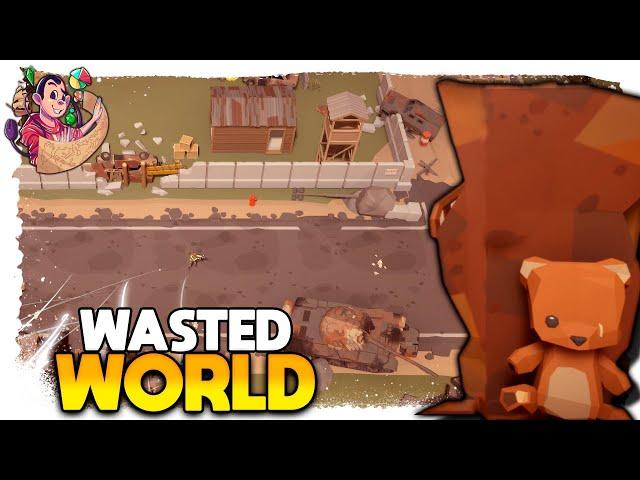 SOBREVIVÊNCIA PÓS TERCEIRA GUERRA | Wasted World #01 - Gameplay PT BR