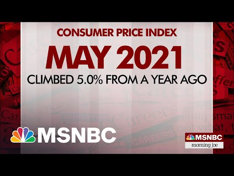 Consumer Prices Jump Five Percent From Last Year | MSNBC