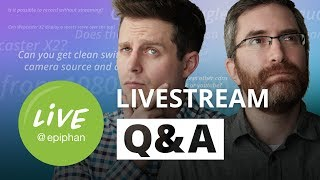 Livestream Q&A - Your Questions Answered